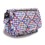 J World Terry Campus Messenger Bag; Checkmate