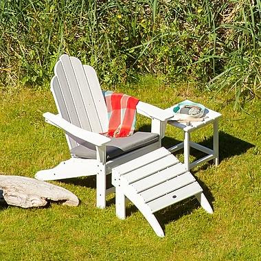POLYWOOD Long Island 3 Piece Adirondack Seating Group