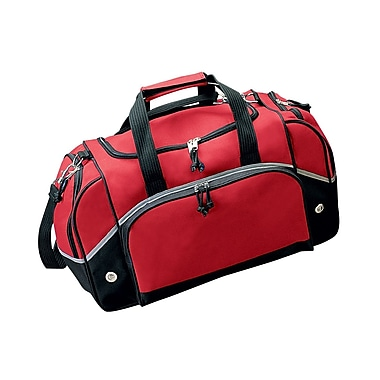 Preferred Nation 20.5'' Gym Duffel; Red