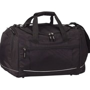 Preferred Nation Travelwell 20'' Gym Duffel with Cooler; Black