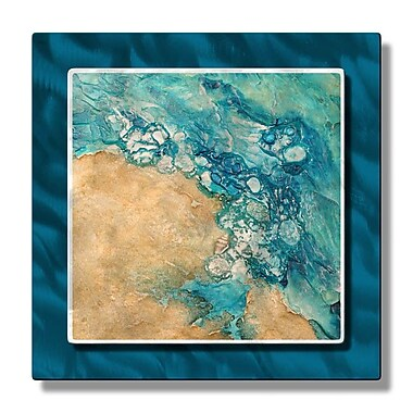 All My Walls 'Tide Pool Rising' by Kelli Money Huff Graphic Art Plaque