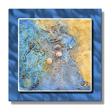 All My Walls 'Beach Treasures Aloft' by Kelli Money Huff Graphic Art Plaque