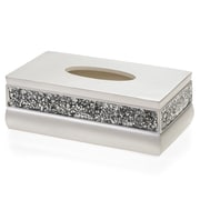 Creative Scents Brushed Nickel Tissue Box Cover