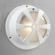 PLC Lighting Sunray 1 Light Sconce; White