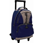 Olympia 18'' Rolling Backpack; Navy