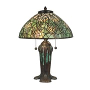 Dale Tiffany 25.75'' H Table Lamp with Bowl Shade