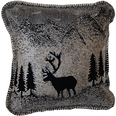 Denali Forest Friends Throw Pillow