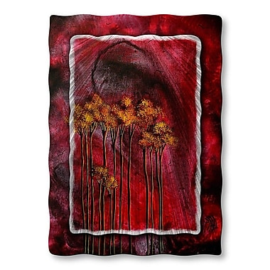 All My Walls 'Winter Sparkle' by Megan Duncanson Graphic Art Plaque