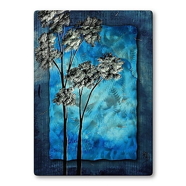 All My Walls 'Towering Trees' by Megan Duncanson Painting Print Plaque