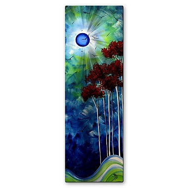 All My Walls 'Tropical Night' by Megan Duncanson Graphic Art Plaque