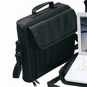 Preferred Nation Compact Laptop Briefcase; Black