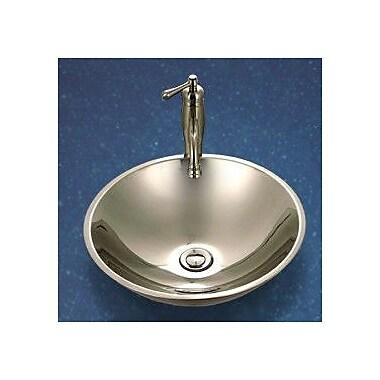 Houzer Club Double Layer Bathroom Vessel Sink