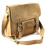 Vagabond Traveler Messenger Bag; Nature Brown