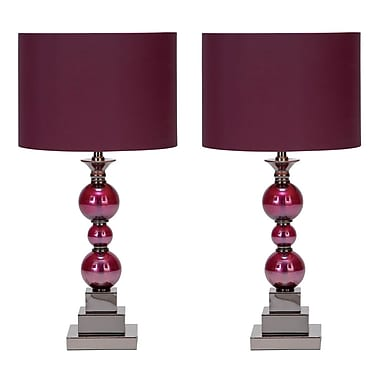 Aspire Bennie 24'' Table Lamps (Set of 2) (Set of 2)