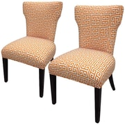 Sole Designs Amelia Chain Slipper Chair (Set of 2)
