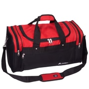 Everest 21.5'' Travel Duffel; Red/Black