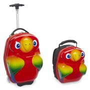 TrendyKid Travel Buddies 2 Piece Popo Parrot Luggage Set
