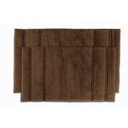 Garland Rug Majesty Bath Rug  (Set of 2); Chocolate
