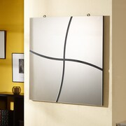 Hokku Designs Hannabella Loft Style Wall Mount Mirror