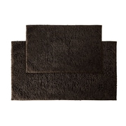 Garland Rug Queen Bath Rug (Set of 2); Chocolate