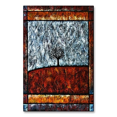 All My Walls 'Tree of Life' by Aimee Dieterle Painting Print Plaque