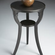 Butler Black Licorice Round End Table