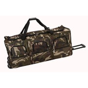 Rockland 40'' 3-Wheeled Travel Duffel; Camouflage