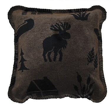 Denali Camp Throw Pillow
