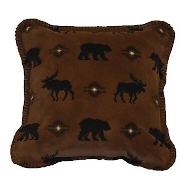 Denali Wilderness Walk Throw Pillow