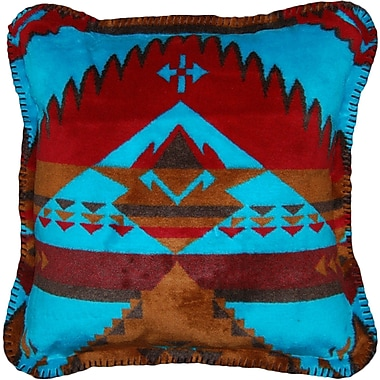 Denali Native Journey Throw Pillow; Taupe