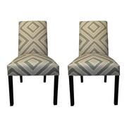 Sole Designs Nouveau Side Chairs (Set of 2); Blush
