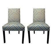 Sole Designs Nouveau Side Chairs (Set of 2); Capri