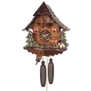 River City Clocks Eight Day Cottage Cuckoo Wall Clock