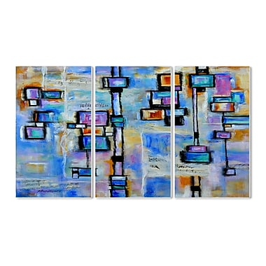 Stupell Industries Abstract Dreams Triptych 3 Piece Wall Plaque Set