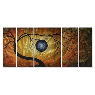 All My Walls 'Eternal Hope' by Megan Duncanson 5 Piece Graphic Art Plaque Set