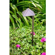 Dabmar Lighting 1 Light Pathway Light; Antique Bronze