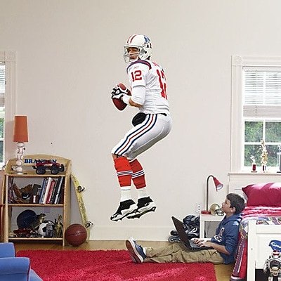 Fathead NFL Wall Decal; Tom Brady AFL Jersey WYF078275948605