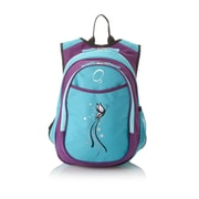 Obersee Kids All in One Preschool Turquoise Butterfly Cooler Backpack
