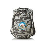 Obersee Kids All in One Preschool Camo Airplane Cooler Backpack