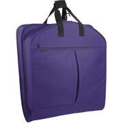 Wally Bags Series 800 Suit Length Garment Bag; Purple