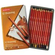 Derwent Drawing Pencil Color Tin (Set of 12)