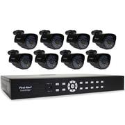 First Alert DCA16810-520 SmartBridge Indoor/Outdoor 16-Channel DVR Video Security System