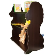 Ace Baby Furniture Lion Mobile Double Sided 41.5'' Bookcase; Espresso Wenge