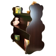 Ace Baby Furniture Bear Mobile Double Sided 41.5'' Bookcase; Espresso Wenge