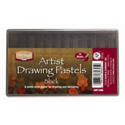 Alvin and Co. Black Drawing Pastels (Set of 12)