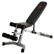 Marcy Adjustable Utility Bench with Leg Hold-Down Pads