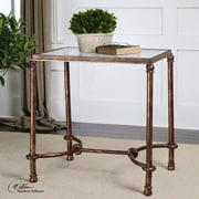 Uttermost Warring End Table