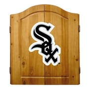 Imperial MLB Team Logo Complete Dart Cabinet Set; Chicago White Sox