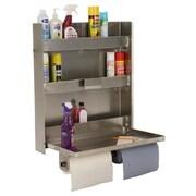 PVIFS Storage Solutions Double Cabinet 30'' H 3 Shelf Shelving Unit Starter