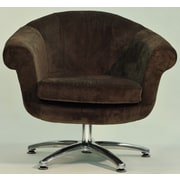 Fox Hill Trading Overman Five Prong Twist Chair; Brown